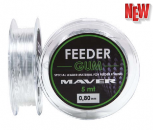 Leader MAVER FEEDER GUM - - 5m, 0.7mm /3-6kg
